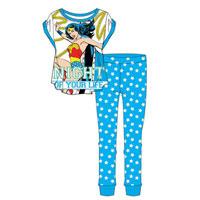 Ladies Official Wonder Woman Night Of Your Life Pyjamas