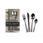 Modena 16 Piece Stainless Steel Cutlery Set