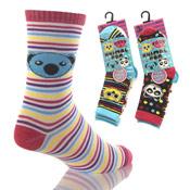 Animal Pop Girls Socks