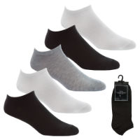 Mens 5 Pack Sport Trainer Socks