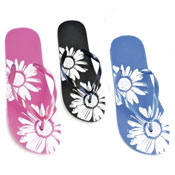 Ladies Flip Flop Floral