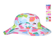 Girls Summer Hats Flower Print