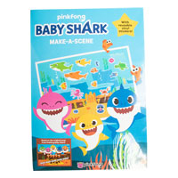 Official Baby Shark Make A Scene Activity Book