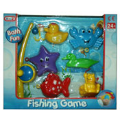 Fishing Rod & Floating Animals Hook Game