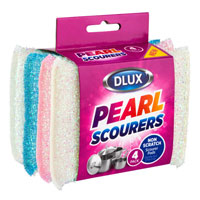4 Pack Pearl Scent Scourers