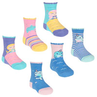 Baby Girls Mermaid Whale Socks