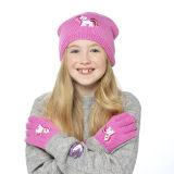 Girls Hat With Unicorn Motif