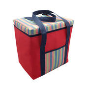 Jumbo Insulated Cooler Bag Red