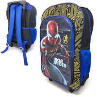 Official Iron Spider Spiderman Deluxe Trolley Backpack