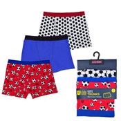 Boys Football Design Trunks
