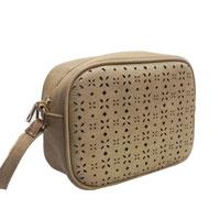 Victoria Small Shoulder Bag Beige