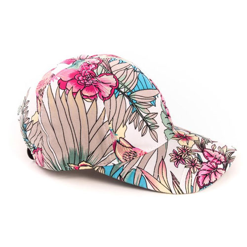 Girls Floral Baseball Cap