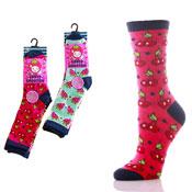 Fruit Smoothie Girls Socks