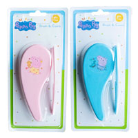 Official Peppa Pig Brush & Comb Set