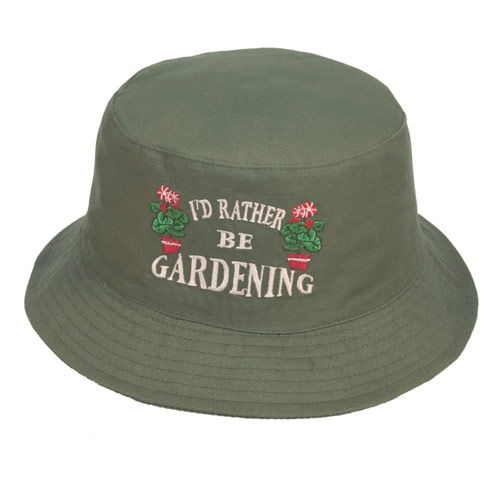 Adult Bush Hats with Embroidery