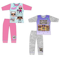 Official LOL Surprise Girls Pyjama Set Chill/Glitter