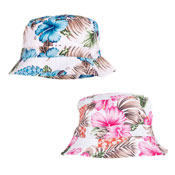 Ladies Floral Print Bush Hat