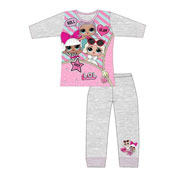 Older Girls LOL Surprise Grey Zip Pyjama Set