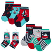Baby Novelty Design Socks Sea Boats