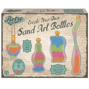 Retro Crafts Sand Art Bottles
