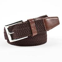 Brown Stretchy Belt
