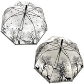 Wildlife Clear Umbrella