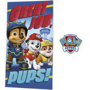 Paw Patrol Pups Beach Towel
