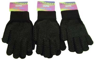 Handy Black Magic Gripper Gloves