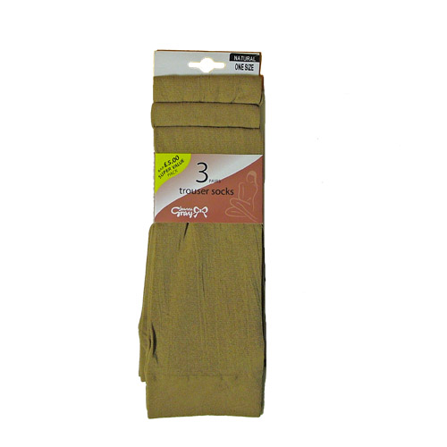 Trouser Socks by Silky 3 Pair Pack
