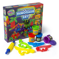 Dough Glow Dinosaur Set