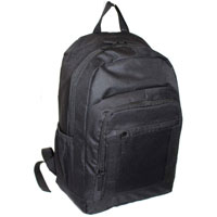 Borderline Backpack With Zip Pockets