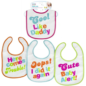 First Steps Baby Bib