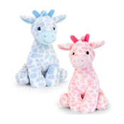 26cm Snuggle Giraffe Assorted Soft Toy