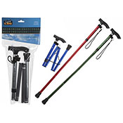 Foldable Walking Stick Assorted