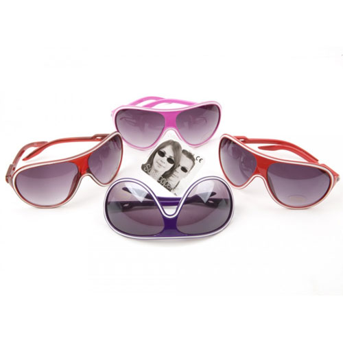Deluxe Fashion Sunglasses With Shiny Colours