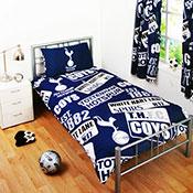 Official Tottenham Hotspur FC Duvet Set