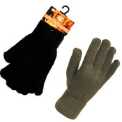 Mens Heat Max Super Stretch Gloves