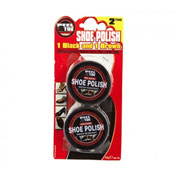 Shoe Shine Polish Twin Pack Black/Brown