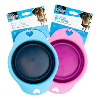 Collapsible Pet Bowl 19cm