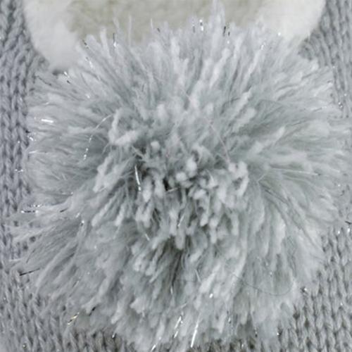 Kids Knit Ballet with Lurex Thread Slipper