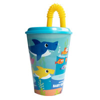 Official Baby Shark Tumbler Straw Bottle
