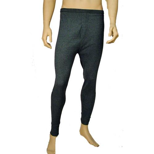 Mens Thermal Underwear Long Johns Grey