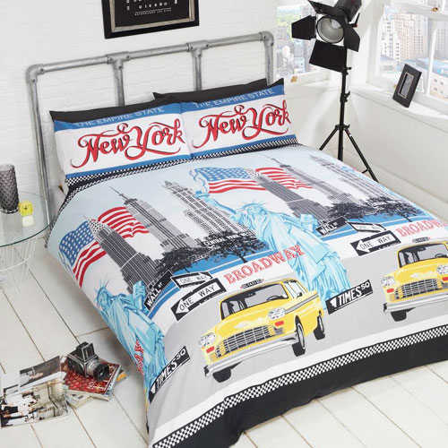 Signature Home Empire State Duvet Set
