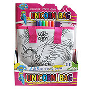 Colour Your Own Unicorn Bag