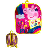 Official Peppa Pig Premium Backpack Happy