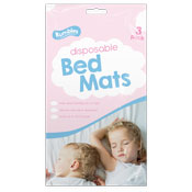 Disposable Bed Mats 3 Pack