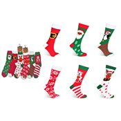 Snuggle Toes Ladies Christmas Cosy Socks Novelty