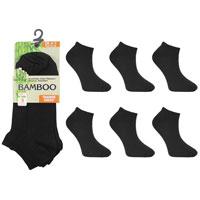 Ladies Bamboo Trainer Socks