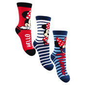 Girls Minnie Mouse Character Socks