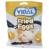 Jelly Fried Egg Sweets 100g Bag